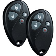Remote start and keyless entry system with four-button remote control