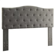 "Grace 54/60"" Headboard in Grey Product Image"