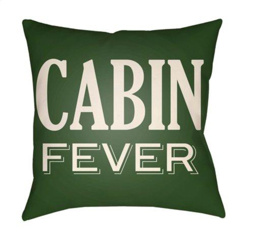 "Lodge Cabin LGCB-2035 22"" x 22"""