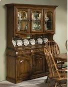Classic Oak Large China Cabinet Product Image