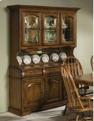 Classic Oak Large China Hutch Product Image