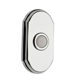 Polished Chrome BR7017 Arch Bell Button