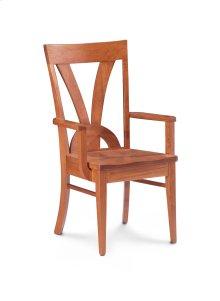 Adeline II Arm Chair, Fabric Cushion Seat