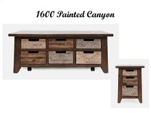 Painted Canyon Box Cocktail Table