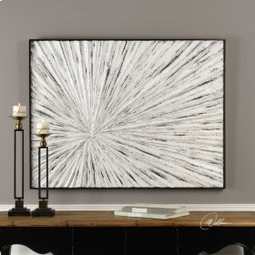 Innerspace Hand Painted Canvas