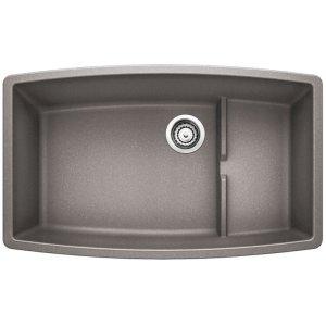 Blanco Performa Cascade Super Single Bowl Metallic Gray