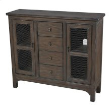 2 Doorw 4 Drawers Cabinet