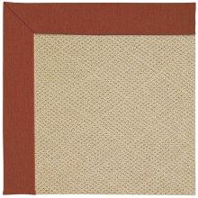 Creative Concepts-Cane Wicker Canvas Brick Machine Tufted Rugs