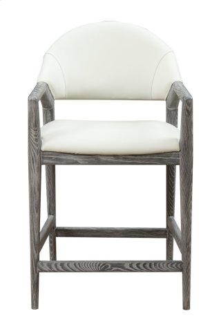 "Emerald Home Carrera 24"" Bar Stool Slate Gray D905-24"