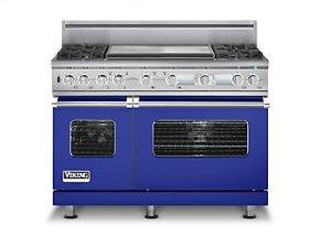 "48"" Custom Sealed Burner Dual Fuel Electronic Control Range, Natural Gas"
