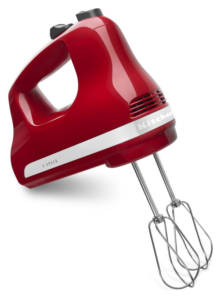 5-Speed Ultra Power Hand Mixer - Empire Red  EMPIRE RED