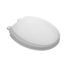Value Pack of Five: Slow Close and Easy Lift and Clean Round Front Toilet Seats - White