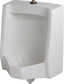 White Monitor 0.125 - 1.0 Gpf Pint Washout Top Spud Urinal