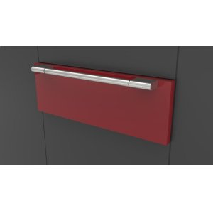 "Fulgor Milano30"" Pro Warming Drawer - Glossy Red"