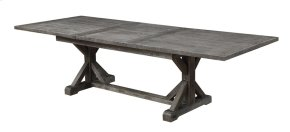 """Paladin - Dining Table Top W/28"""" Butterfly Leaf & Base"""