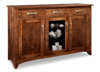 Glengarry Sideboard w/2 Wood Doors & 1/Center Glass Door & 3/Drws & 2/Wood & Glass Adjust. Product Image