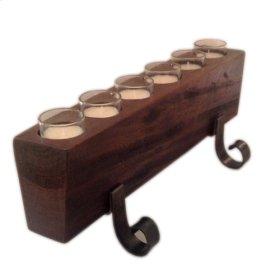 6 cup sugarmold Candleholder