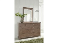 Mirror in Taupe Gray