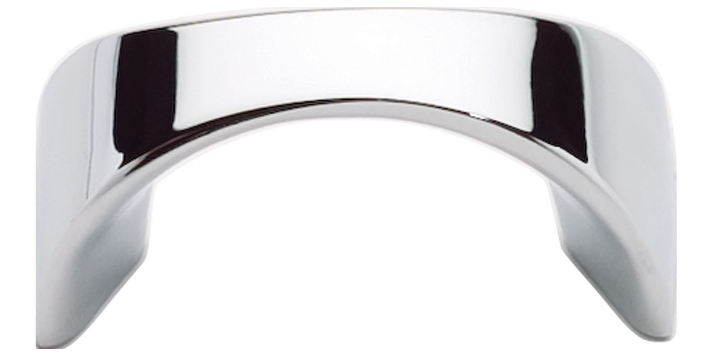 Sleek Knob 1 1/4 Inch (c-c) - Polished Chrome