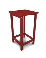"Sunset Red 26"" Counter Side Table Product Image"
