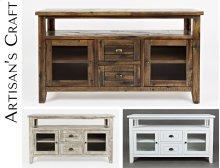 Artisan's Craft Storage Console - Dakota Oak