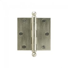 "Plain Bearing Extruded Hinge - 3.5"" x 3.5"" Silicon Bronze Brushed"