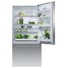 "Fisher & Paykel Freestanding Refrigerator Freezer, 32"", 17.1 Cu Ft, Ice"