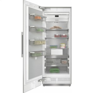 MieleF 2811 SF MasterCool freezer For high-end design and technology on a large scale.