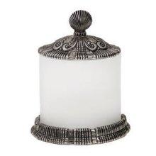 Oceanus Large Jar with Pewter Lid