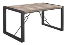 Emerald Home Carlisle Dining Table Matte Black D244-10