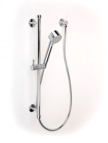 Darby Handshower Rail Set - Polished Chrome