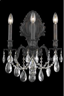 8603 Monarch Collection Wall Sconce Dark Bronze Finish