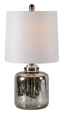 Grey Table Lamp