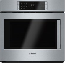 "Benchmark Series, 30"", Single Wall Oven, SS, EU Conv., TFT Touch Control, Left Swing"