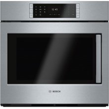 """Benchmark Series, 30"""", Single Wall Oven, SS, EU Conv., TFT Touch Control, Left Swing"""