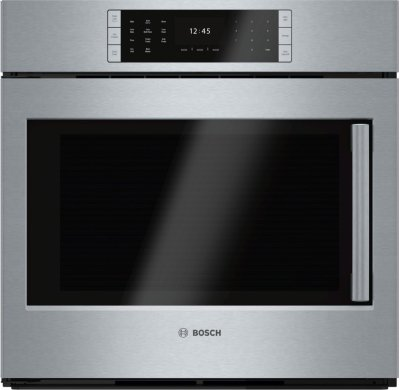 "Benchmark Series, 30"", Single Wall Oven, SS, EU Conv., TFT Touch Control, Left Swing Product Image"
