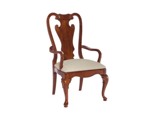 Splat Back Arm Chair-kd