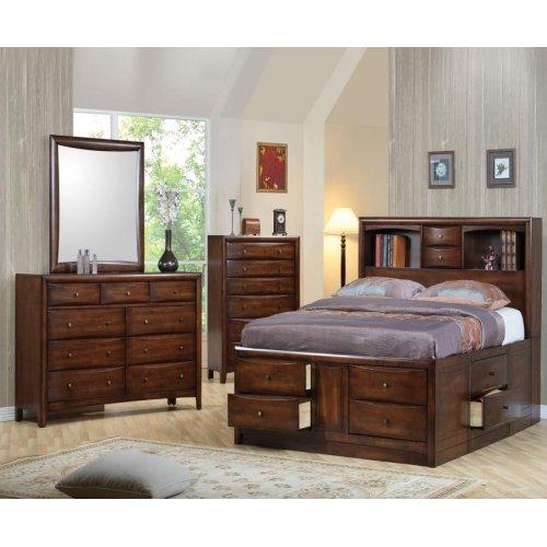 Hillary California King Storage Bed