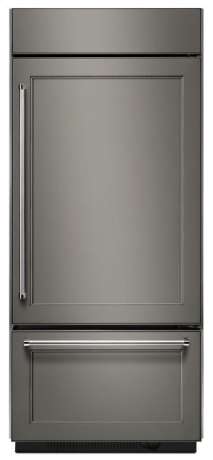 """20.9 Cu. Ft. 36"""" Width Built-In Stainless Bottom Mount Refrigerator with Platinum Interior Design - Panel Ready"""