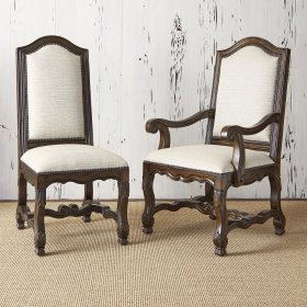 Avignon Side Chair - Balsamo Rain