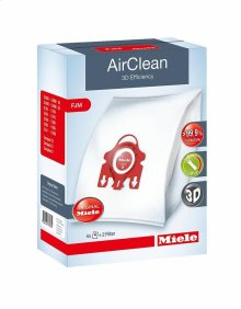 FJM AirClean 3D AirClean 3D Efficiency FJM dustbags ensures that dust picked up stays inside the machine.