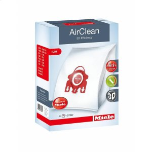 FJM AirClean 3D AirClean 3D Efficiency FJM dustbags ensures that dust picked up stays inside the machine. -