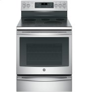 """GE Profile™ Series 30"""" Free-Standing Electric Convection Range Product Image"""