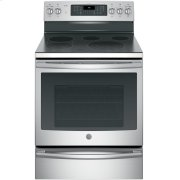 """GE Profile™ 30"""" Smart Free-Standing Electric Convection Range Product Image"""