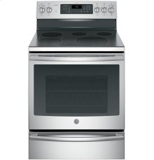 "GE Profile™ Series 30"" Free-Standing Electric Convection Range"
