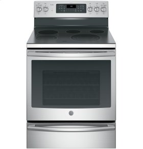 "SCRATCH & DENT- GE Profile™ Series 30"" Free-Standing Electric Convection Range"