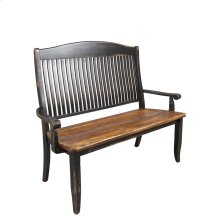 Wooden seat bench