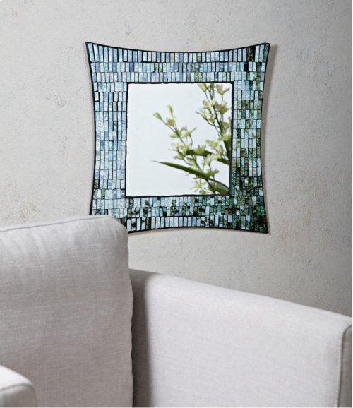 Aramis Mosaic Glass Wall Mirror