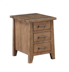 Emerald Home Viewpoint Chairside Table Driftwood T977-3