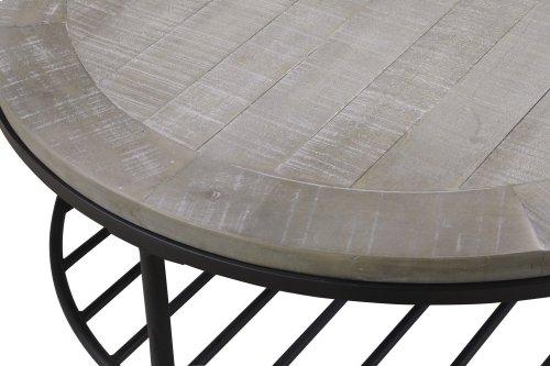 Emerald Home Cutter Half-moon Sofa Table T618-02